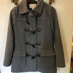 Grey wool coat - Banana Republic